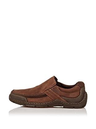 Hush Puppies Zapatos Berman (Marrón Oscuro)