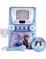 Disney Frozen Karaoke Machine With Monitor Plus Bonus Cd+G And Lyric Booklet