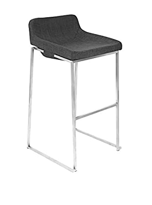 LumiSource Satori Bar Stool Stacker, Charcoal