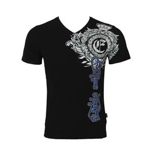 TSG V-Neck T-Shirt (Black) - TSGEVNHSTSESD17 for men