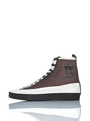 Galliano Hightop Sneaker Zip