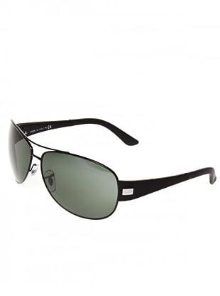 Ray Ban Sonnenbrille 3467 006/71 schwarz/grün