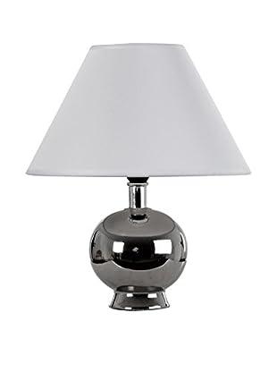 Vical Home Lámpara De Mesa Plata