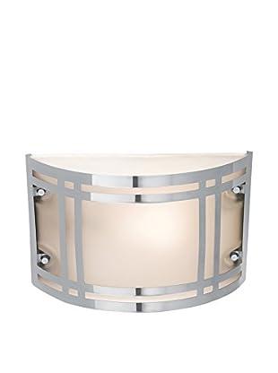 Access Lighting Poseidon LED 1-Light Wet Location Bulkhead, Stainless Steel/Frosted