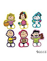 Peanuts Easter Finger Puppets Snoopy, Charlie Brown, Sally, Lucy (6 Finger Puppets)