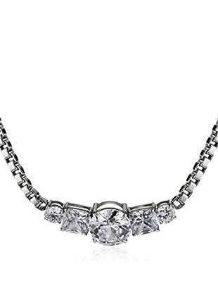 Dyrberg/Kern Halskette Dorelia Ss Crystal silber/transparent