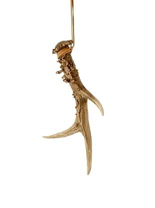 Raz Antler Ornament I, Brown