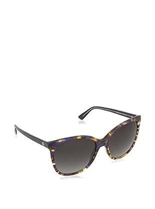 GUCCI Gafas de Sol 3751/S PT 17V (56 mm) Marrón / Azul