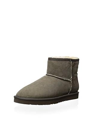 Koolaburra Women's Classic Ankle Sheepskin Boot (Cappuccino)