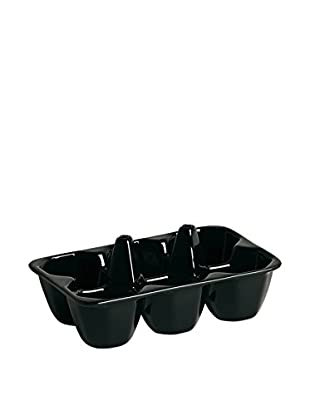 Seletti Egg & Cracker Holder (Black)