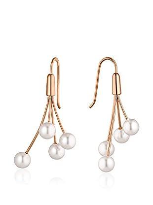 steel art Ohrringe Auris 4 Pearls rosé
