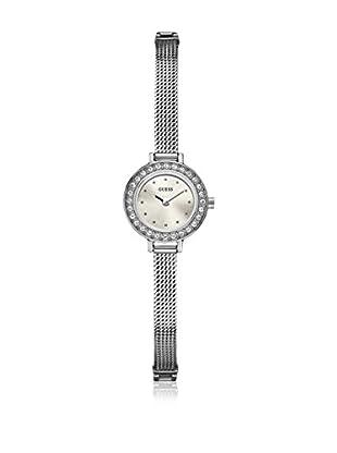 Guess Reloj de cuarzo Woman Plateado 20 mm