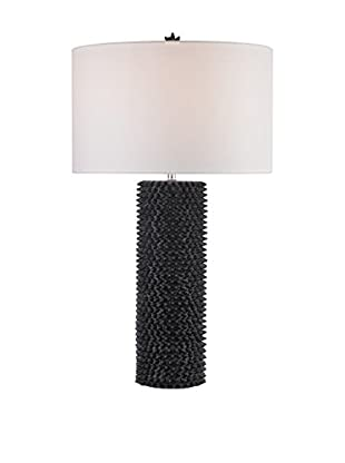 Artistic Lighting Black Punk Table Lamp, Navy Blue