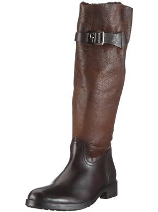Buffalo London 1001 W 03 COW MONTONE 121239 - Botas de cuero para mujer (Marrón)