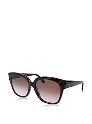 Balenciaga Sonnenbrille BA0015 17 140 52F (59 mm) braun/schwarz