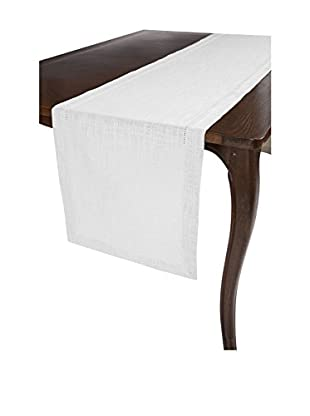 KAF Home Rustic Hemstitch Table Runner