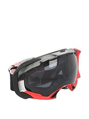 OAKLEY Skibrille Mod. 7022 Clip grau/rot