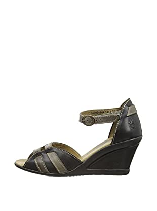 Fly London Sandalias Jori (Gris Oscuro)