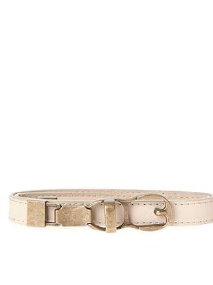 Javier Simorra Cinturón Metalicbelt (rosa claro)