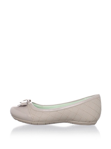 Pampili Kid's Quilted Ballet Flat (Beige)