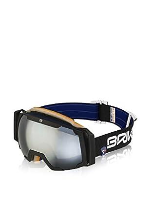 Briko Skibrille Sciara schwarz matt