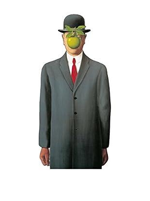 Artopweb Wandbild Magritte Les Fils De L Homme Bunt
