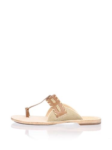 Timberland Women's Marge Flat Sandal (Tan)