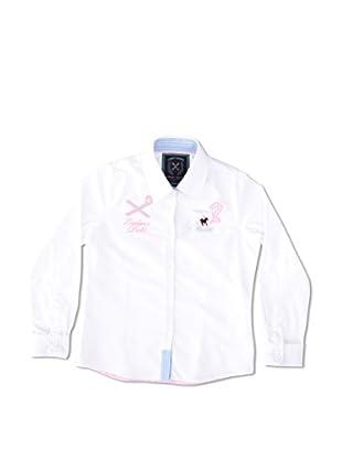Valecuatro Camisa Junior Escudo Caballos (Blanco)