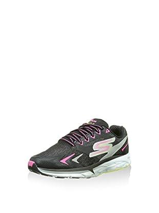 Skechers Go Run Forza, Chaussures de Running Entrainement femme, Rose (Rose/Bleu), 35 EU (2 UK)