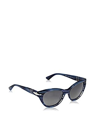 Persol Sonnenbrille Po3064S 901771 (53 mm) blau/grau