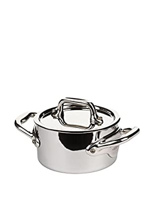 Mauviel M'cook .4-Qt. Mini Cocotte with Lid & Cast Stainless Steel Handle