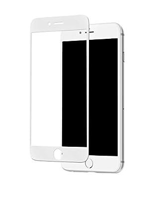 ZZ-UNOTEC Protector De Pantalla Full Cover iPhone 7 Blanco