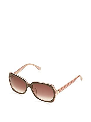 Fendi Occhiali da sole 0002/F/S 7PH/K8 (55 mm) Marrone/Rosa