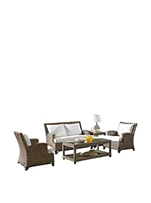 Panama Jack Exuma 5-Piece Living Set With Cushions, Kubu Grey