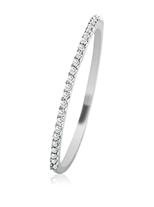 Vittoria Jewels Fine-Ring Vitorria Jewels 0.07 Cts Diamond Ring In 9Kt White Gold