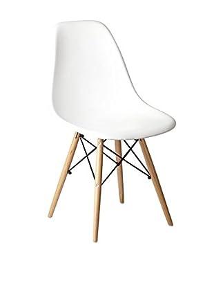 UNICO Stuhl Wooden weiß