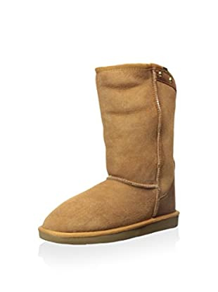 Pegia Women's Classic Short Boot with Zip Up Back