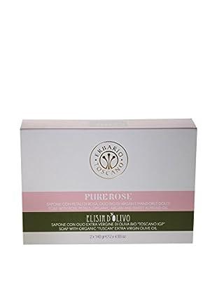 Erbario Toscano Pure Rose & Olive Complex Soaps Gift Set, 9.86-Oz.