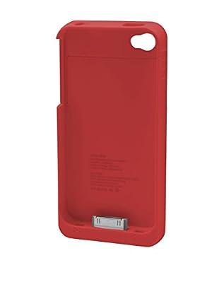 UNOTEC Hülle mit Ersatzakku für iPhone 4 / 4S iPhone 4 / 4S rot