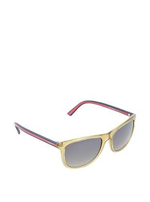 Gucci Sonnenbrille 1055/SNQ0VW beige / rot 57 mm