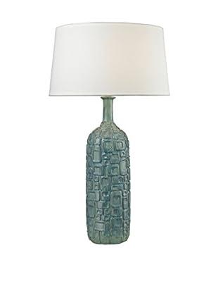 Artistic Lighting Table Lamp, Blue/White