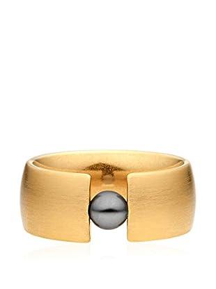 steel art Ring Globus Xl