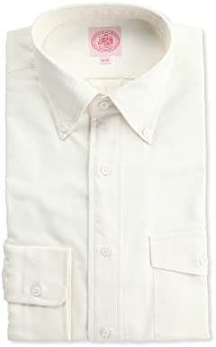 J. Press J. Press Irving Buttondown Shirt HDOVNA0001: Ivory
