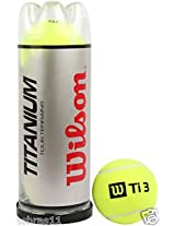 Wilson Titanium Tennis Ball - 1 Dozen (4 Cans of 3 Ball each)