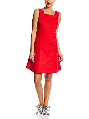 TrakaBarraka Vestido Pirita Rojo