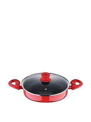 Bergner Cacerola Con Tapa Q1581 28 cm Rojo 28 x 7,5 cm
