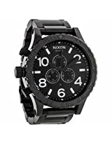 Nixon 51-30 Chrono All Black Mens Watch A083-001-00