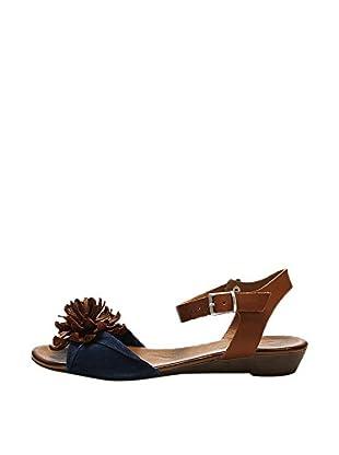Bueno Shoes Sandalias Planas Borlas