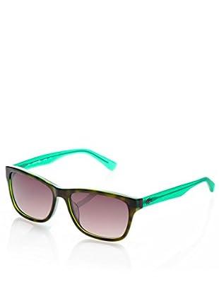Lacoste Gafas de Sol L683S Verde / Havana