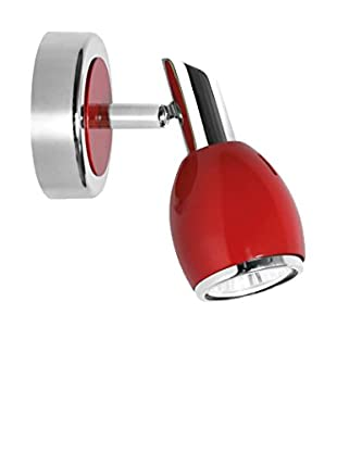 De-sign Lights Foco Colors Rojo/cromo